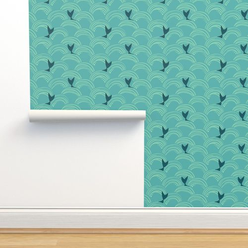 Isobar Durable Wallpaper. mermaid tails