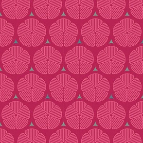 Fiori_pink_green