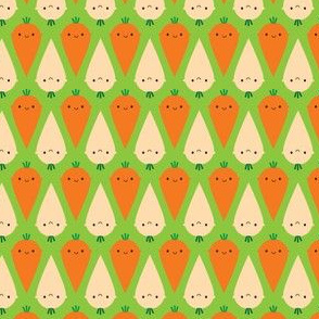 Happy Carrots and Parsnips