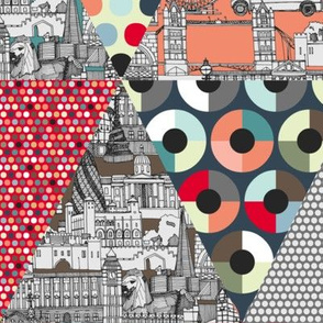 London triangle quilt