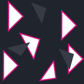 Triangles Dark - Tribal Dance  - © PinkSodaPop 4ComputerHeaven.com