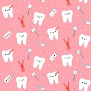 Happy Teeth & Friends - Peachy  Pink