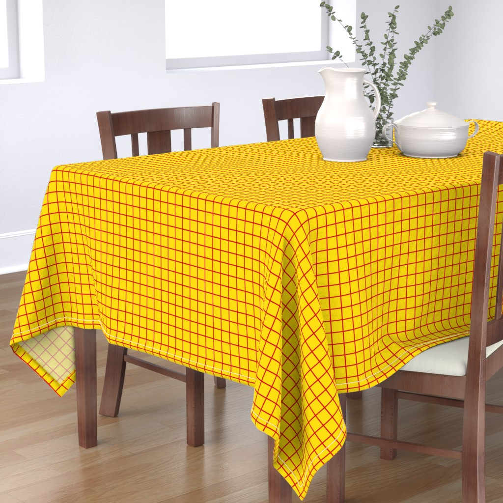 Bantam Rectangular Tablecloth featuring Woody (small) by lowa84