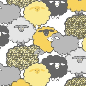 Sheep Shape (YELLOW)