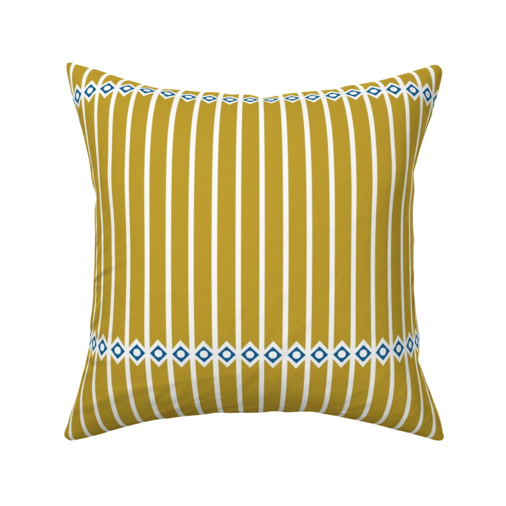Catalan Throw Pillow featuring Colosseum Gold by arboreal