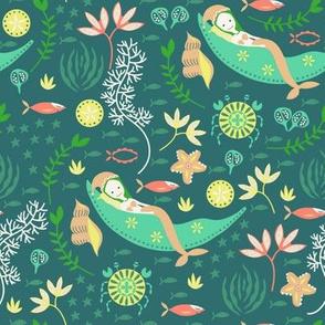 Miss Mermaid's Bedtime