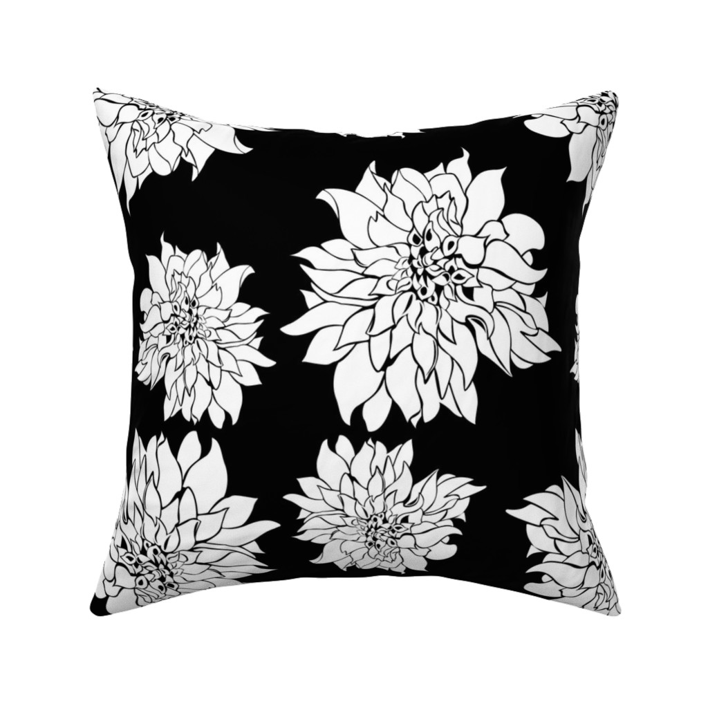 Catalan Throw Pillow featuring Villa Black by arboreal