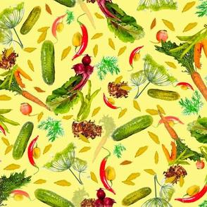 Pickled Veggies Coordinate