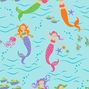 Mermaids_Swim