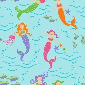 Mermaids_Swim