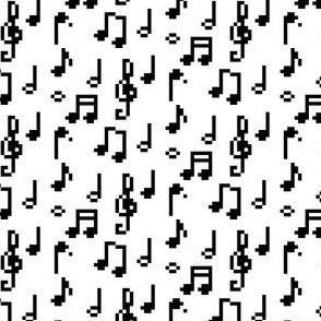 Pixel Music Notes