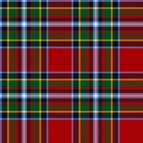 """Gillespie tartan - 9"""" modern colors"""