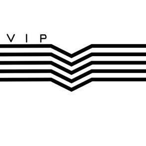 VIP Lettered White
