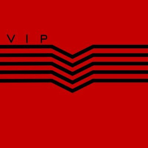 VIP Lettered Red