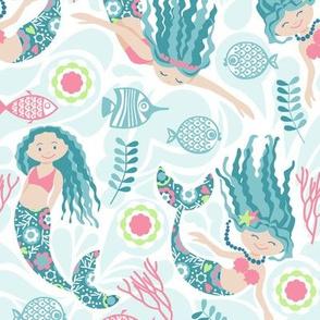 mermaid sea