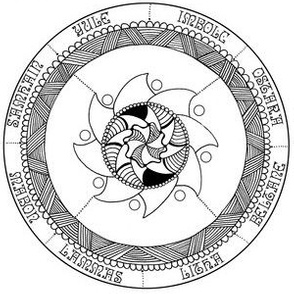 Color your Own! Wheel of the Year