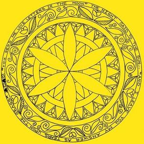Yellow/Summer Mandala