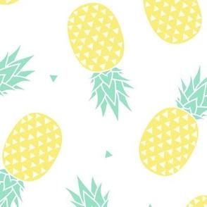Pineapple - White Background