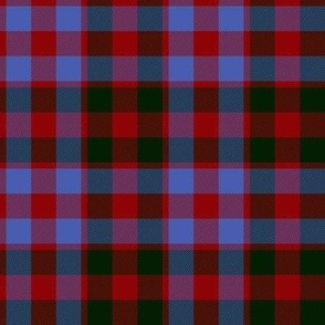 "Gow or MacGowan tartan, 4"" ancient colors"