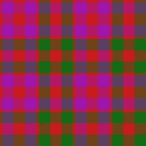 "Gow or MacGowan tartan, 4"" modern variant"