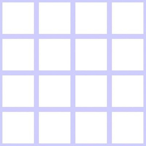 Grid Purple on White