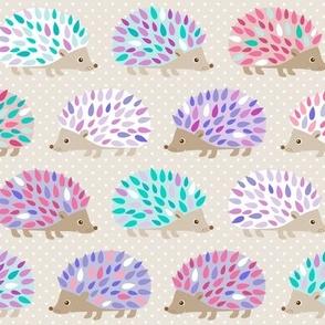 Hedgehog polkadot