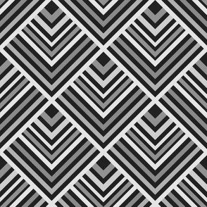 Black and Grey Geo