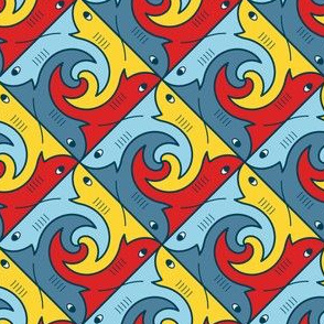 04272586 : shark4 X : spoonflower0188