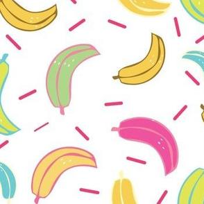 Bright and Cheery Bananas Summer pattern