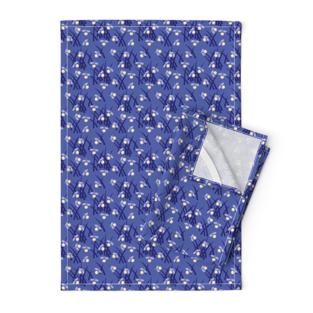 Orpington Tea Towels featuring fireflies by cindylindgren