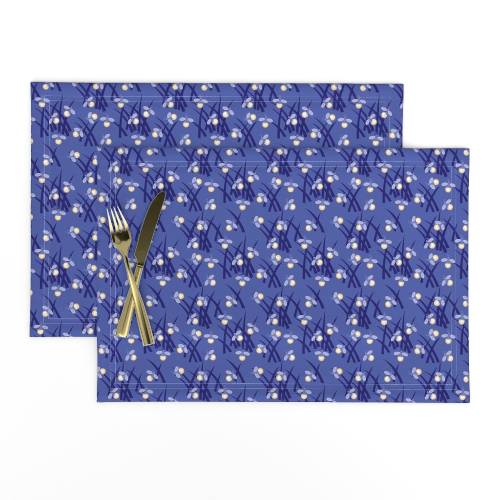 Lamona Cloth Placemats featuring fireflies by cindylindgren