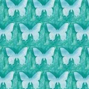 Teal Butterflies