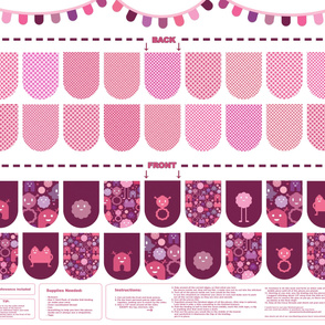 Banner/Bunting Kit - Pinks