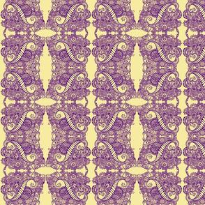 Yellow/Purple Tangles