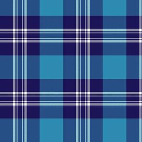 "Earl of St. Andrews / St. Andrews District tartan, 8"""