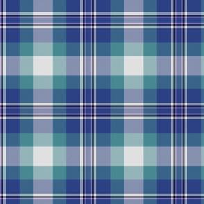 "Earl of St. Andrews / St Andrews District dress tartan, 8"""