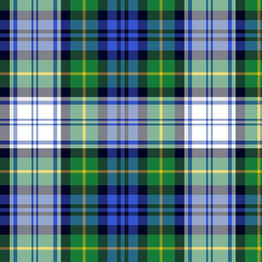 "Gordon Dress tartan, 12"" modern colors"