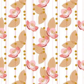 Apple Blossom Stripe