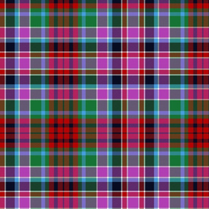 Gordon Red tartan #1, 12""