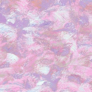 abstract paint swirl - pink and purple