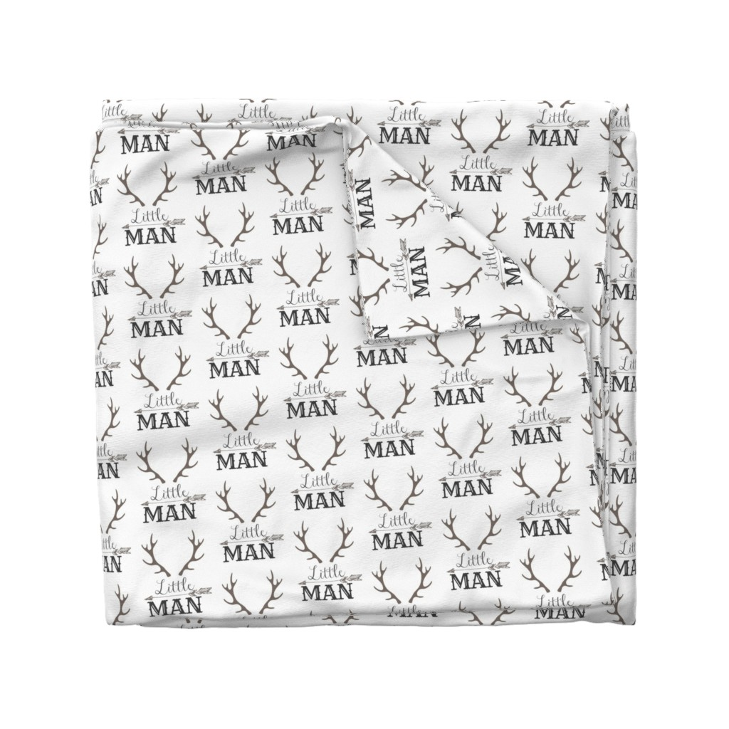 Wyandotte Duvet Cover featuring Little Man Arrow & Horns  by hudsondesigncompany