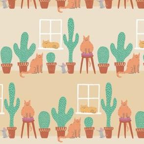 Cats Love Cacti - Small