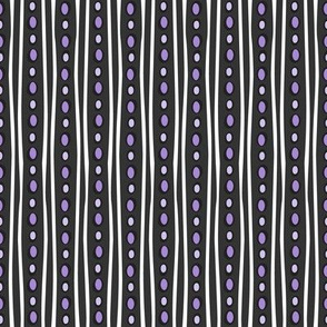 Midnight Stripe (Dark Purple)