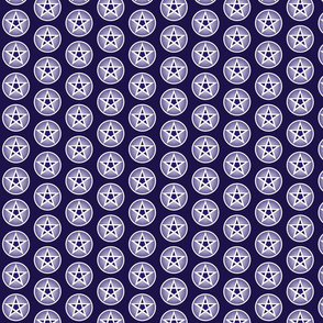 blues pentacle small repeat