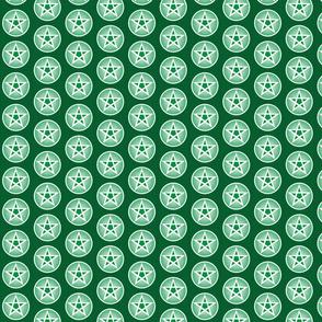 greens pentacle small repeat