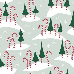 Candy Cane Forest (Festive)