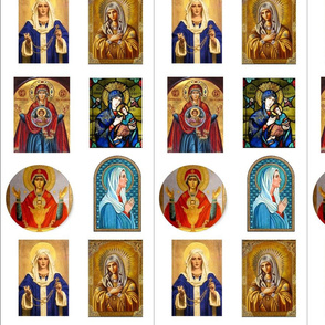 Blessed Mary Mother of God Icons