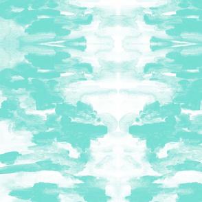 Brochas Teal | Michelle Mathis
