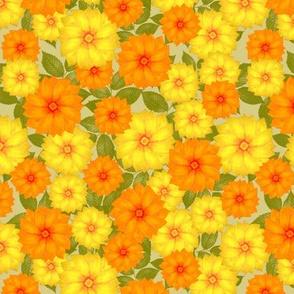 Warm Summer Flowers
