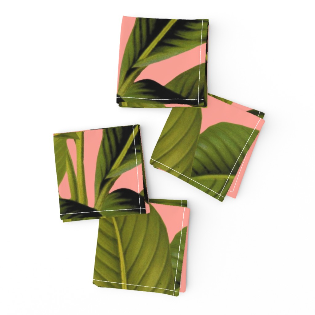 Frizzle Cocktail Napkins featuring Palm In Palm ~ Duchess by peacoquettedesigns